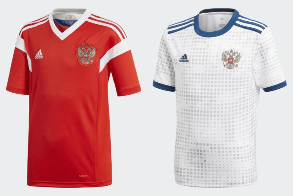 2cabbdf896 A házigazda meze az egyszerűségre törekszik a piros színnel, egyben emléket  állít az 1988-ban Eb-ezüstérmes szovjet válogatott előtt – az orosz zászló  ...
