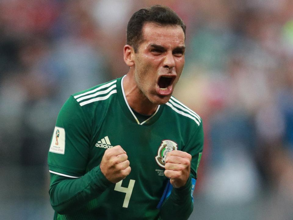 Rafa Márquez nem mindennapi szituációba csöppent (Fotók  AFP) 0fafb0acc8