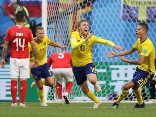 Biztos védekezés és megpattanó lövés – negyeddöntőt ért a svéd recept