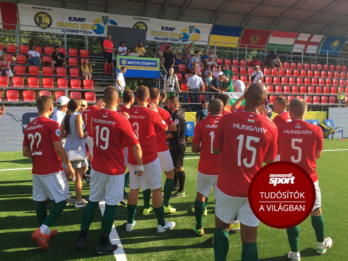 Minifutball Eb  döntetlennel búcsúzott a magyar válogatott - NSO fb571603fa