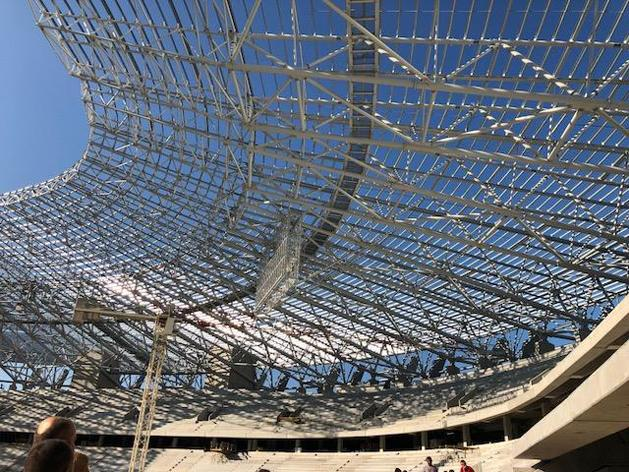 Labdarúgás  elérte a legmagasabb pontját az új Puskás Ferenc Stadio 1cbe080685