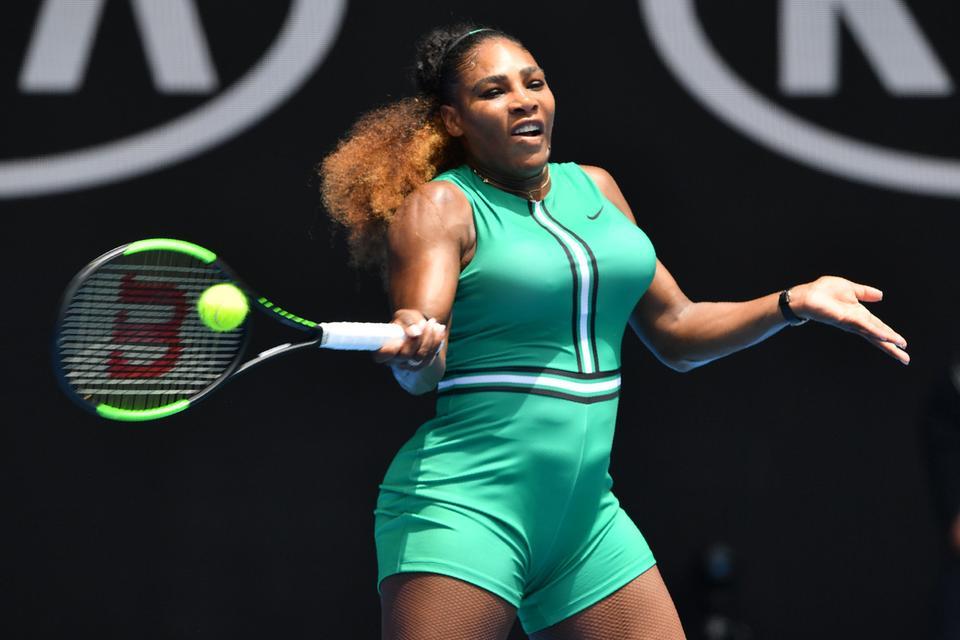 546f089e90 Serena Williams kiverte a biztosítékot Ausztráliában is (Fotó:  Twitter/Australian Open)