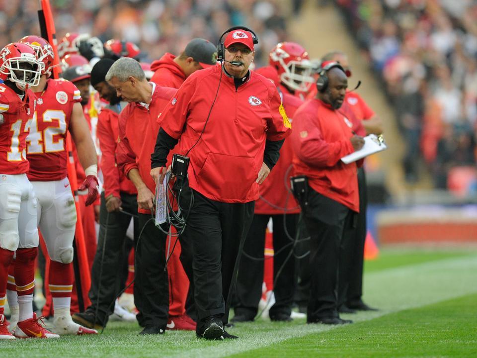 9b49a9de3f A Chiefs és a tréner is története legnehezebb időszakát élte, amikor Andy  Reid a csapathoz került (Fotó: AFP, archív)