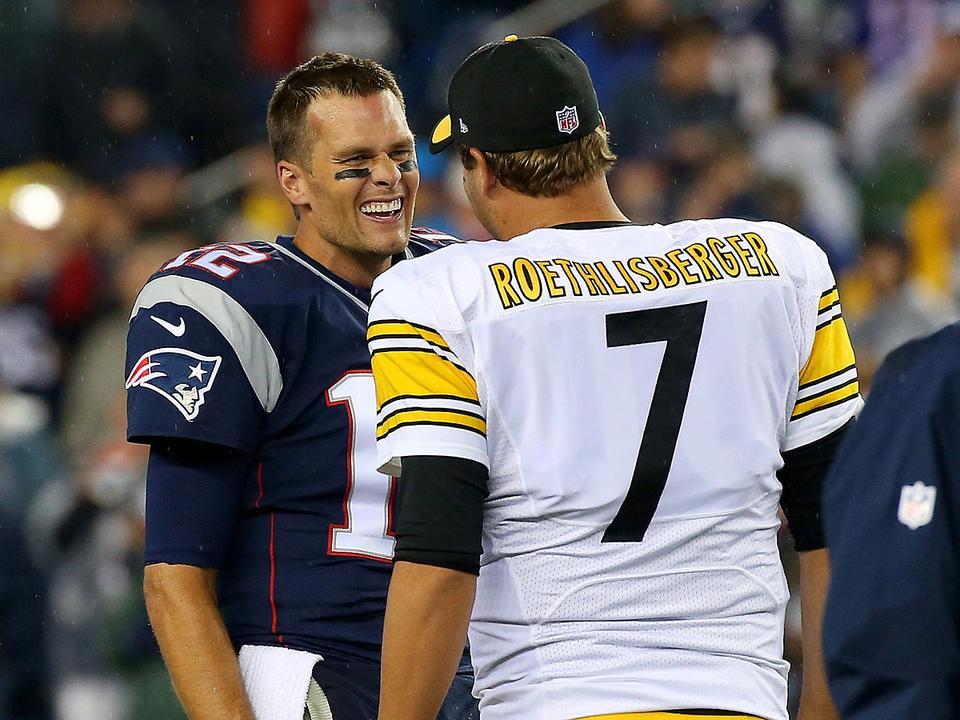 e0f62aa93f Tom Brady és Ben Roethlisberger már az első fordulóban egymás ellen  csatázhat (Fotó: AFP, archív)