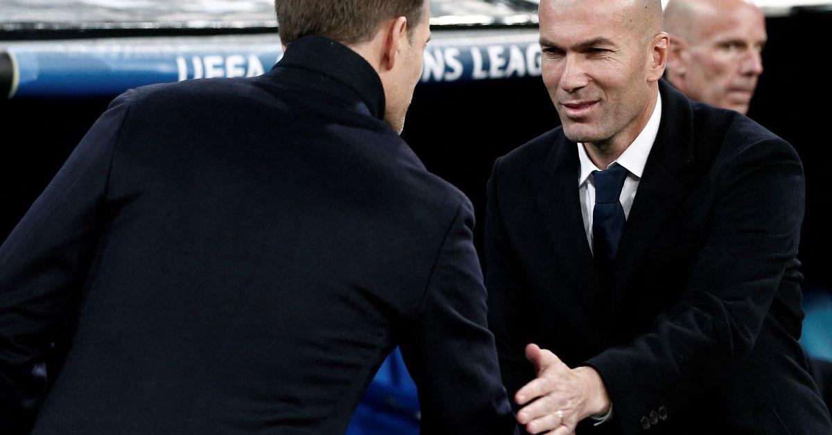 BL: Zidane nagyon büszke a legénységére