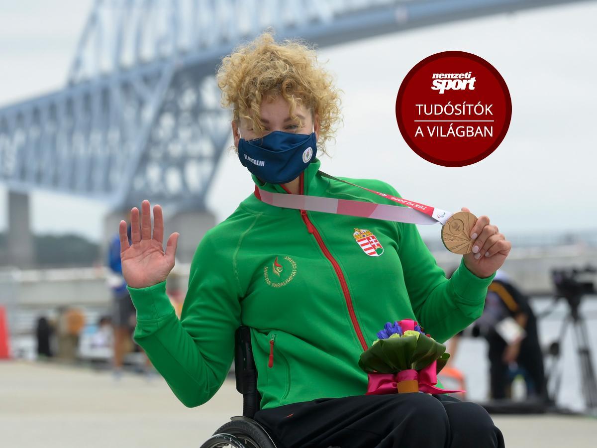 Paralimpia 2020: a kajakos Varga Katalin bronzéremmel nyitotta az utolsó napot