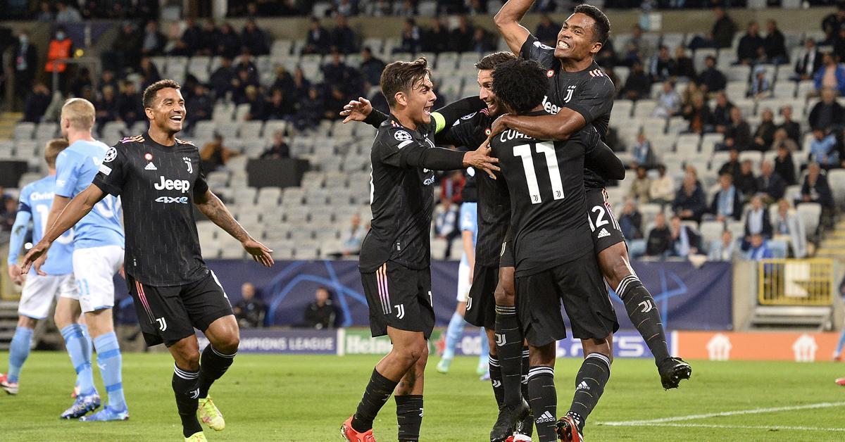 BL, H-csoport: a Juventus az első félidőben lerendezte a Malmőt