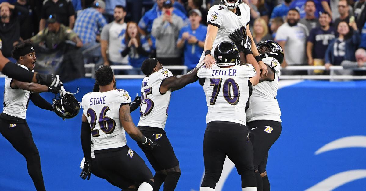NFL: rekordot jelentő FG-vel az utolsó másodpercben nyert a Ravens
