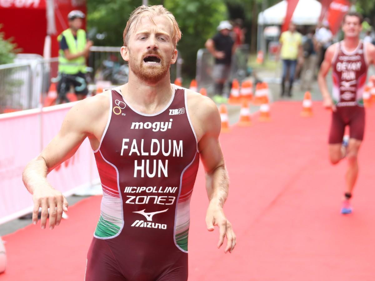 Triatlon: Faldum az olimpiai bajnok előtt végzett a középtávú vb-n