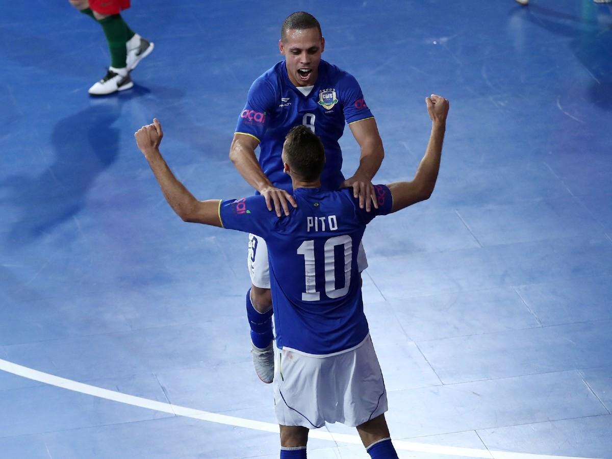 Futsal-vb: hibátlan mérleggel csoportgyőztes Brazília