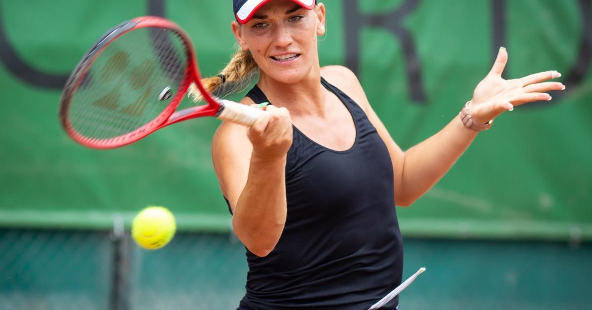 Tenisz: Babos döntőbe jutott a hamburgi ITF-versenyen