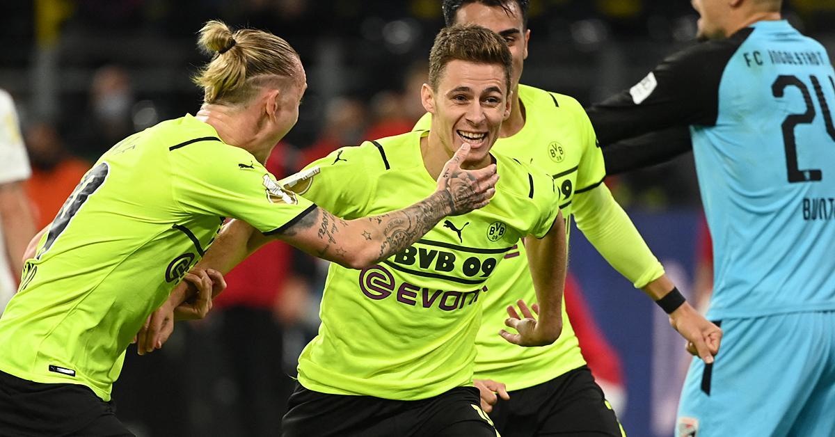 Német Kupa: Hazard beállt és továbblőtte a Dortmundot